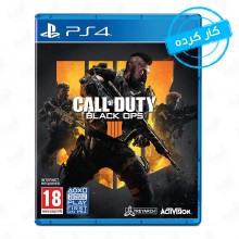 بازی Call of Duty Black Ops 4 مخصوص PS4  (کارکرده)