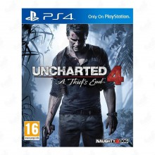 بازی Uncharted 4: A Thief's End مخصوص PS4