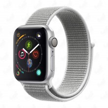 ساعت هوشمند Apple Watch Series 4 مدل Silver Aluminium Case with Seashell Sport Loop